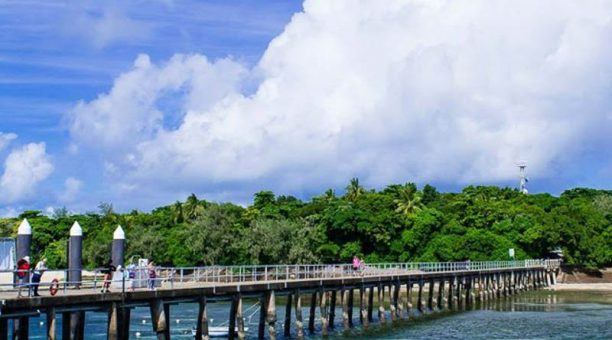 The jetty at Green Island