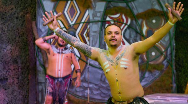 Indigenous Dancing