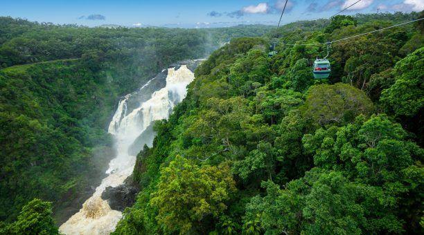 The mighty Barron Falls